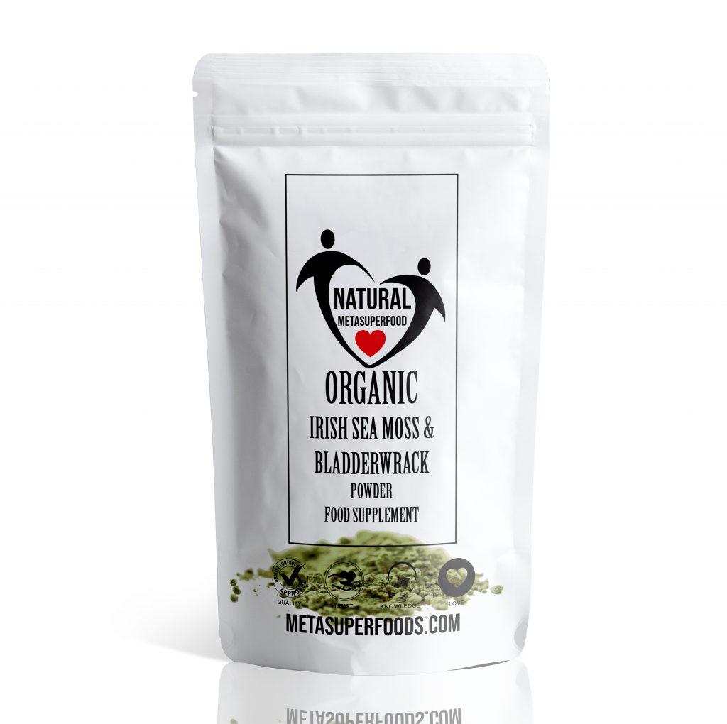 Sea Moss And Bladderwrack Powder 300g High Potency
